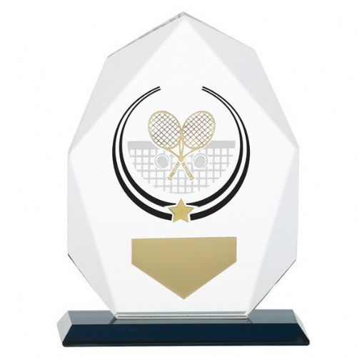 Glacier Tennis Glass Award 140mm